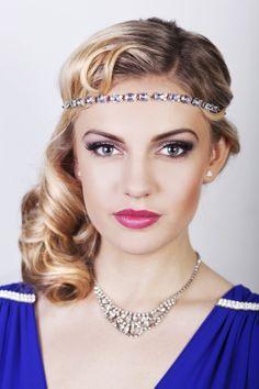 Seriously Great Gatsby 20s inspired hair & make up tutorial – Part I | A Vintage Wedding Guide