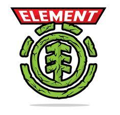 Element logo flips by Jon Ramirez, via Behance