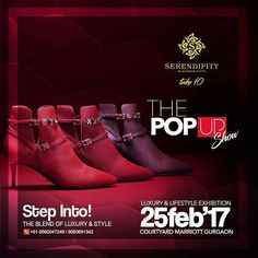 Step into the blend of Luxury & Style. #Serendipity #Take10 #ThePopUpShow #LifestyleExhibition #Exclusive #Fashion #Style #Luxury #Shopping #BookingsOpen