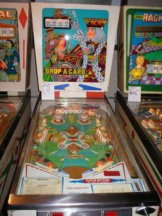Image Detail for - drop a card a simple fun vintage pinball machine