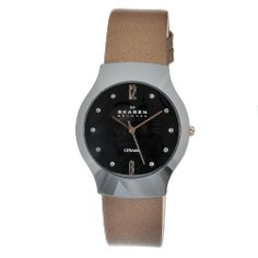Skagen Women's 817SBLDC Quartz Ceramic Mother-Of-Pearl Dial Watch Skagen. $68.00. Quartz movement. Case diameter: 40mm. Water-resistant to 30 M (99 feet). Durable mineral crystal protects watch from scratches,. Casual watch