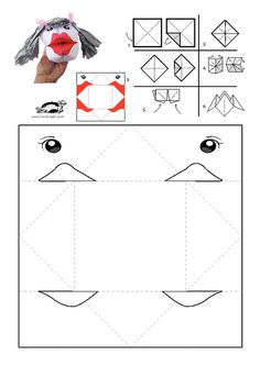 printables for kids Paper Puppets, Hand Puppets, Paper Toys, Easy Crafts For Kids, Diy For Kids, Diy And Crafts, Paper Crafts, Art Cart, Spring Crafts