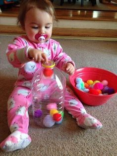 Activities For 1 Year Olds, Toddler Learning Activities, Montessori Activities, Infant Activities, Activities For Kids, Baby Learning Activities, Indoor Activities, Learning Toys, Montessori Baby Toys