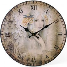 Blessed by International Psychic Medium Matt Gibbs   Summer Angel clock by Jessica Galbreth   Available now at Special Spirit Moments - £20.00 http://www.psychicspiritreadings.net/store/p234/Blessed_Summer_Angel_Clock.html