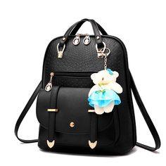 LOVAKIA brand mochila new travel backpack korean women female rucksack  leisure student school bag soft pu leather women bag 6e5347a6c2