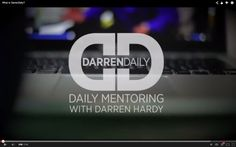 What is DarrenDaily? A cup of Coffee with an awesome mentor!