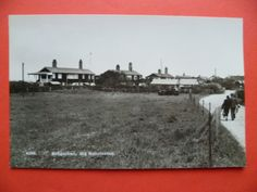 Norfolk: Old Hunstanton, Bungalows, vintage car, RP by H Coates - Wisbech in Collectables, Postcards, Topographical: British | eBay!