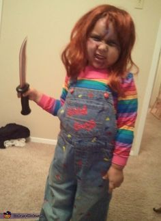 Child's Play Chucky Costume - 2012 Halloween Costume Contest