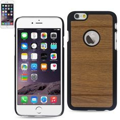 $8.99 Reiko Smooth Wood Pattern Snap on Case For Apple iPhone 6 Plus 5.5inch