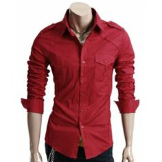 Red Shirts For Mens