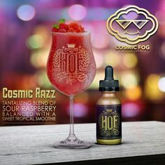 Comsic Razz E-Liquid by HOF