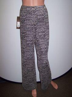 Designer Size 10 NWT Multi Color  Braided Zig Zag Missoni Pants $1,128 #Unknown #DressPants