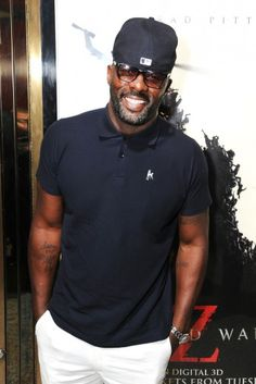 Idris Elba: Urban Chic. A god on Earth <3