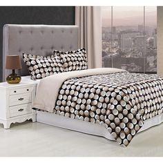 Cotton 300 Thread Count Monroe 3-piece Duvet Cover Set