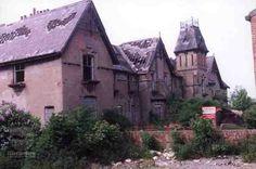 Last photo of Kippax Old Hall Leeds, prior to demolition 1987