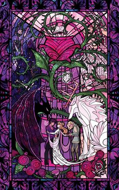 """""""New illustration feat. on the Feb 2020 puzzle! They pitched an amazing idea to crossover w/ the stained glass style of Feat. Rhysand & Tamlin's beast forms, a rosey cauldron, and 14 other hidden items! A Court Of Wings And Ruin, A Court Of Mist And Fury, Fantasy Magic, Fantasy Art, Feyre And Rhysand, Fanart, Posca Art, Sarah J Maas Books, Book Wallpaper"""