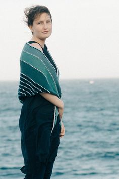 january skies / by melanie berg for quince & co.