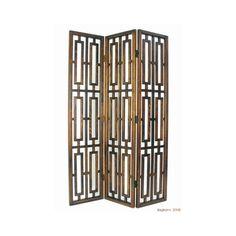 Wayborn Bookmark Wooden Room Divider