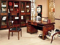 Oriental Chinese Interior Design Asian Inspired Work Office Home Decor  Http://www.