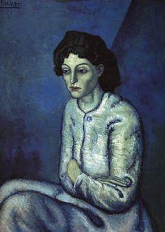Picasso - Femme aux bras croisés - 1901/1902