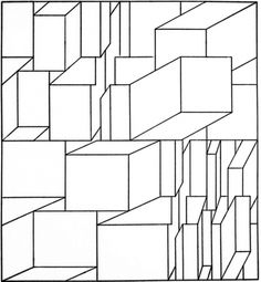 pics based in geometry Impossible Shapes, Vertical City, Computer Art, Conceptual Art, Data Visualization, Geometric Art, Op Art, Sacred Geometry, Wood Wall Art