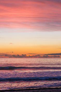 cloud sunset sunrise ocean waves
