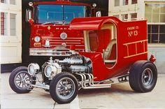 Fire Truck Hot Rod !