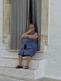 Old Italian Lady - Alberobello, Italy | Marionzetta | Flickr