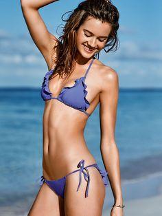 Flounce Triangle Top - Very Sexy - Victoria's Secret