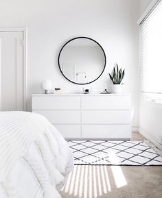 ZEN ROOM: Ideas for a Zen bedroom House decoration ideas ideas # for . - ZEN ROOM: Ideas for a Zen bedroom House decoration ideas ideas - Sala Zen, Simple Bedroom Decor, Bedroom Ideas, Bedroom Designs, Bedroom Inspo, Simple Bedrooms, Ikea Room Ideas, Small White Bedrooms, Ikea Bedroom Design
