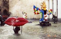 Pompidou fountain
