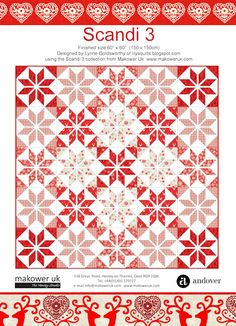 FREE Makower Scandi 3 Pattern
