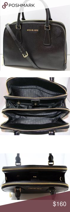 Michael Kors Black Purse Satchel❤ Michael Kors Black Purse Satchel❤In great condition! Michael Kors Bags Satchels