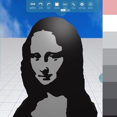 Thanks Alice @monalisaliveshere for your kind words about Morphi, especially our enhanced draw tool. Here's a tribute to your favorite #MonaLisa made in Morphi's Draw tool using the PhotoAlbum button. #teacher #student #3Dprinting #3dprinter #3ddesign #3dmodel #art #design #create #creativity #draw #photoalbum #Leonardo #leonardodavinci #louvre #lagioconda #davinvci #line #draw #stencil
