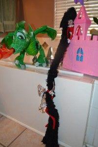 Elf on the Shelf mischief: Day 11 Rapunzel