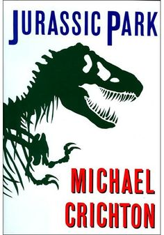 Jurassic Park (The 50 Coolest Book Covers)