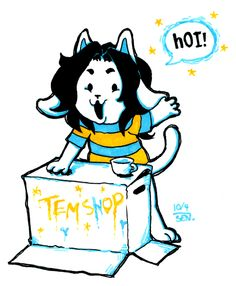 undertale temmie -It's all good with temmie!!!