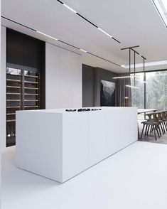 These minimalist kitchen concepts are equivalent components tranquil and trendy. Locate the very best concepts for your minimalist style kitchen that matches your preference. Surf for remarkable images of minimalist style kitchen for motivation. Modern Kitchen Interiors, Modern Kitchen Design, Interior Design Kitchen, Farmhouse Style Kitchen, Modern Farmhouse Kitchens, Casa Kardashian, Küchen Design, House Design, Design Ideas