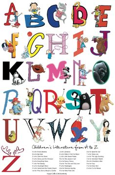 The ABCs of Children's Literature from HarperCollins