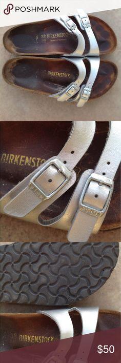 BIRKENSTOCK ADJUSTABLE DOUBLE STRAP SHOES SANDALS BIRKENSTOCK ADJUSTABLE DOUBLE STRAP SHOES SANDALS Birkenstock Shoes Sandals