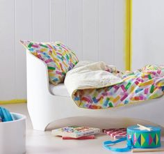 Love this! Sprinkles Cot Quilt Cover Set Pink