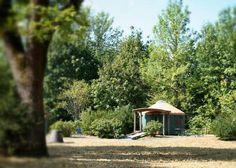 Camp: Champoeg State Heritage Area in Oregon's Willamette Valley near Portland #yurts #cycling #wine
