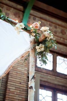 Birch Chuppah | photography by http://www.alainabos.com/