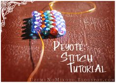 Peyote stitch is another one of those beadweaving stitches you see everywhere. It's got a fancy name and seems kinda daunting. The good new...