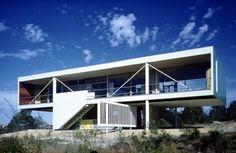 Harry Seidler's Julian Rose House, Wahroonga, Sydney, 1949-50