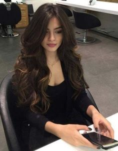 39 Trendy Ideas For Haircut Inspiration 2019 Long Hair Haircuts For Long Hair, Long Hair Cuts, Big Curls For Long Hair, Long Voluminous Hair, Layers For Long Hair, Layered Long Hair, Layered Haircuts, Long Hair Girls, Curl Long Hair