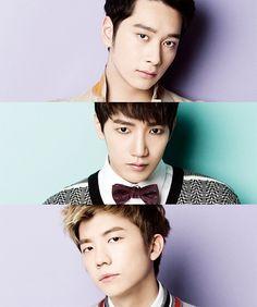 Chansung, Jun.K, and Wooyoung