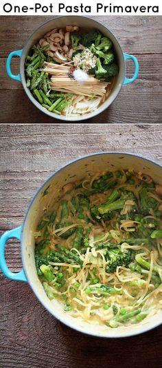 One-Pot Pasta Dinners