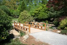 Japanese Garden at the Botanical Gardens in Birmingham, Alabama.