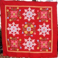 Showing Off Your Antique Quilts FEATURED ARTICLE BY Rickrack.com Vintage Textiles - I Antique Online